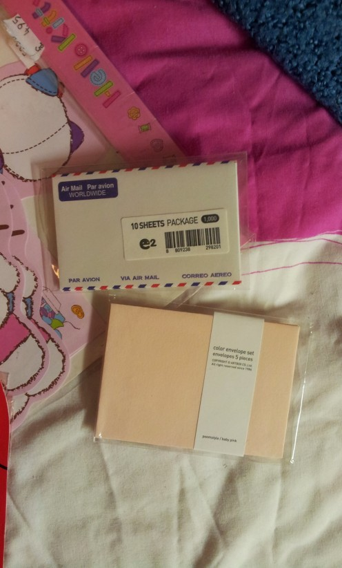 Cute little envelopes.