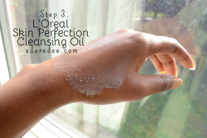 step3lorealcleansingoil