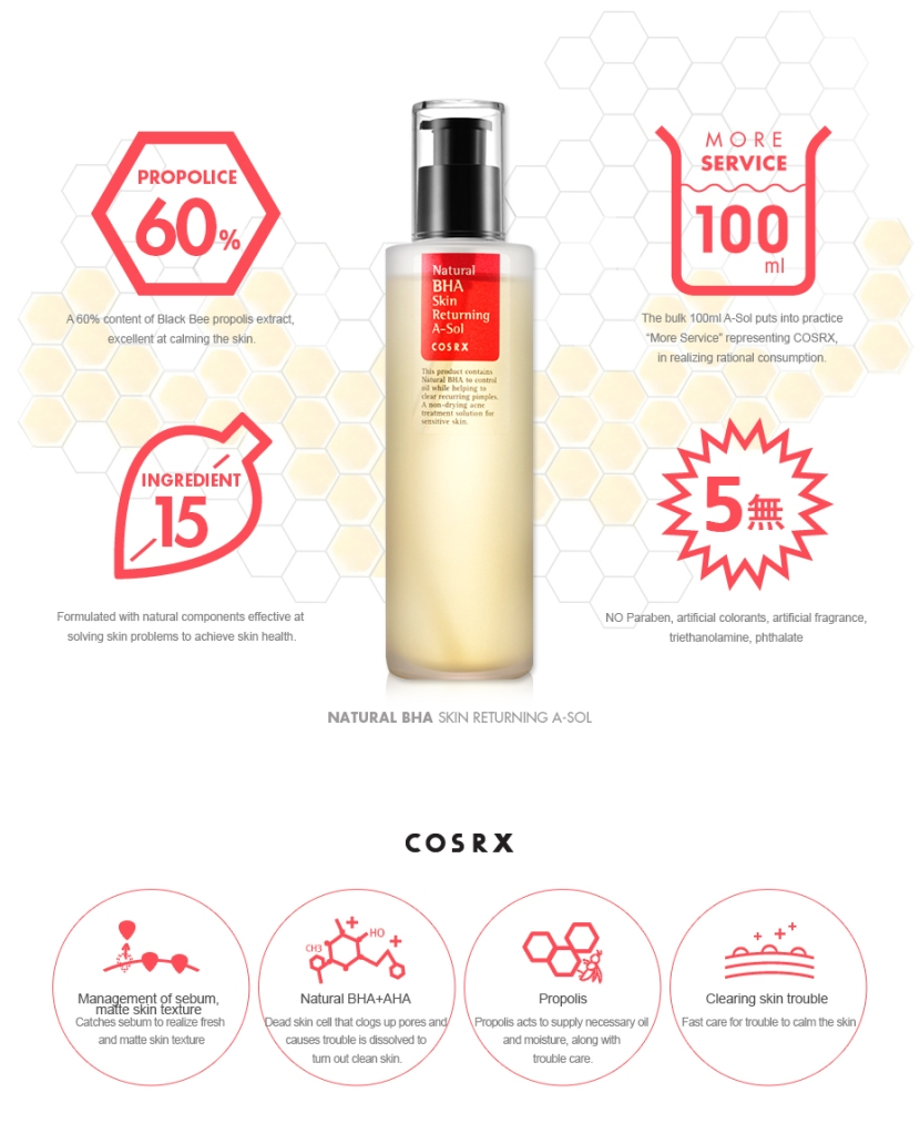 review cosrx natural bha skin returning a sol adoredee