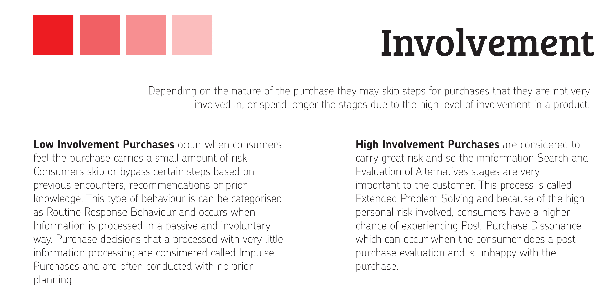a conjoint analysis in high involvement purchase decision It promotes and reinforces the purchase decision not only at the point of purchase, but also every time the product is used packaging in different serving sizes can extend a product into new target markets or help to overcome cost barriers.