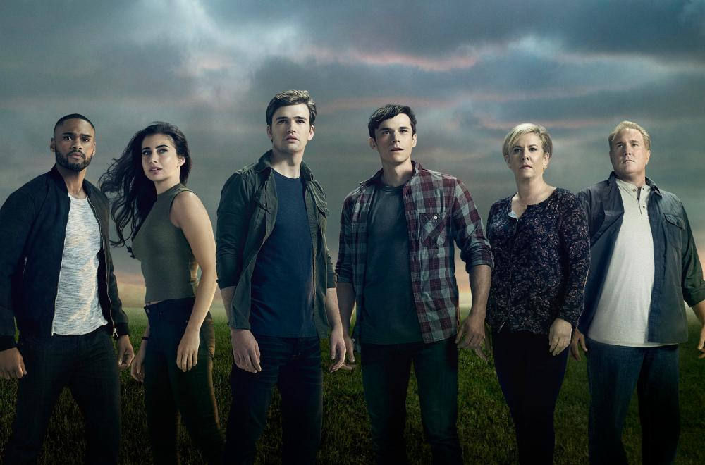 "BEYOND - Freeform's ""Beyond"" stars Jeff Pierre as Jeff, Dilan Gwyn as Willa, Burkely Duffield as Holden, Jonathan Whitesell as Luke, Romy Rosemont as Diane, Michael McGrady as Tom. (Freeform/Nino Munoz)"